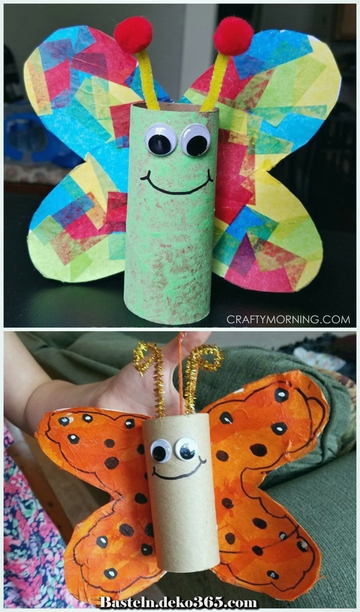 Butterfly Tube Craft Tube Z Hd Kinder Vollendete