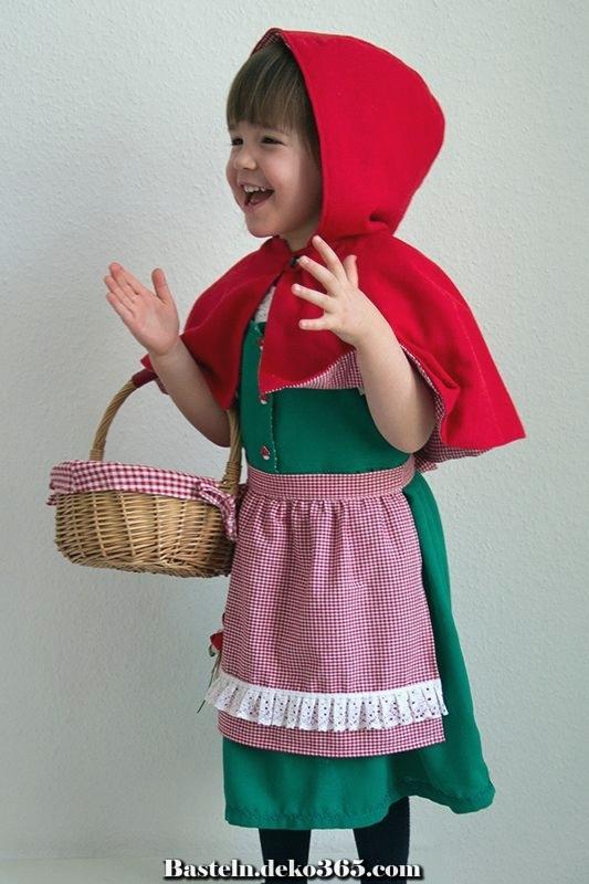 rotkäppchen zu händen kinder nähen  basteln mit kids