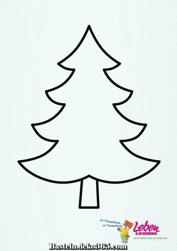 weihnachtsbaummuster 05  basteln mit kids